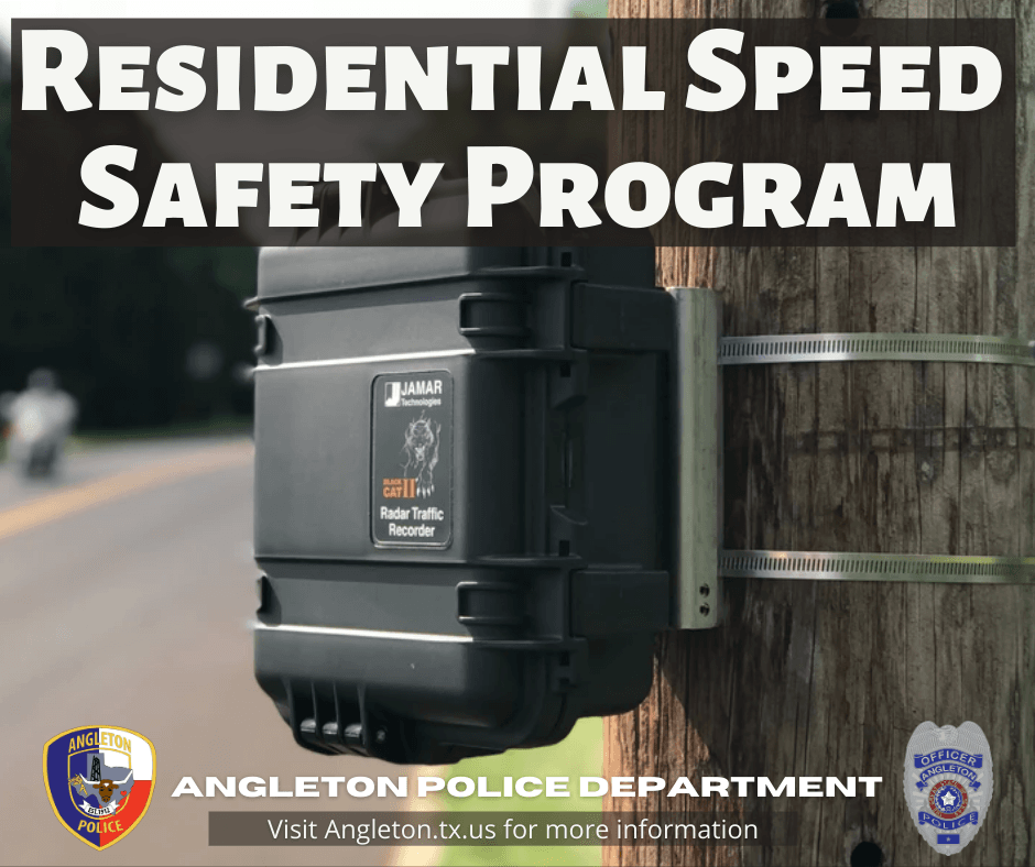 Residential Speed Safety Program