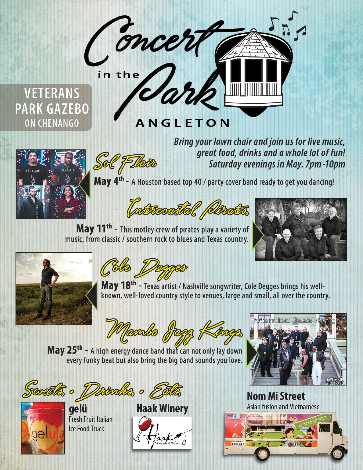 SOCIAL MEDIA 1902015 city of Angleton Concert in the Park